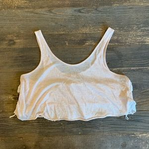 Free people cropped tank